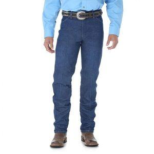 Wrangler Cowboy Cut Original Fit Jeans Size 33x36